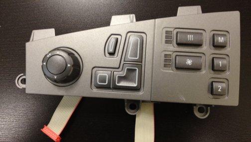 Джойстик управления сидением с кнопками BMW7 E65/E66