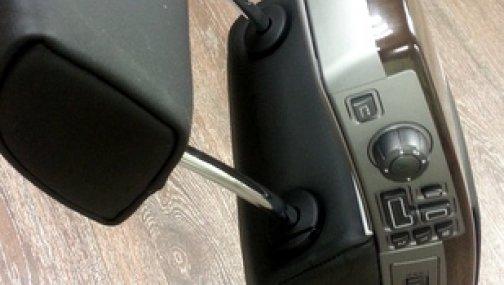 Задний подлокотник BMW 7 E65 (в сборе)