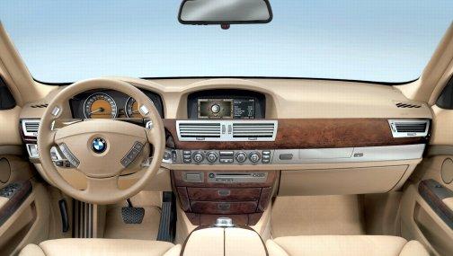 BMW 7 E65 простой